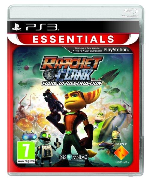 Ratchet & Clank Future: Tools Of Destruction (Essentials)