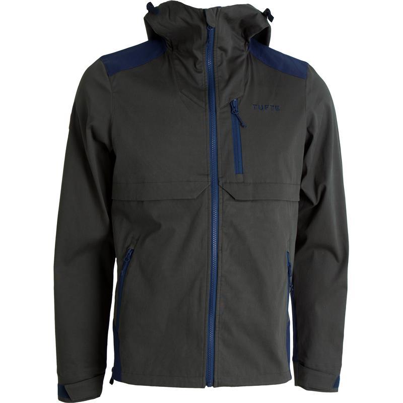 Tufte Mens Jacket XL Deep Forest/Insignia Blue