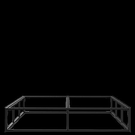 Sängram Svart (160X200CM)