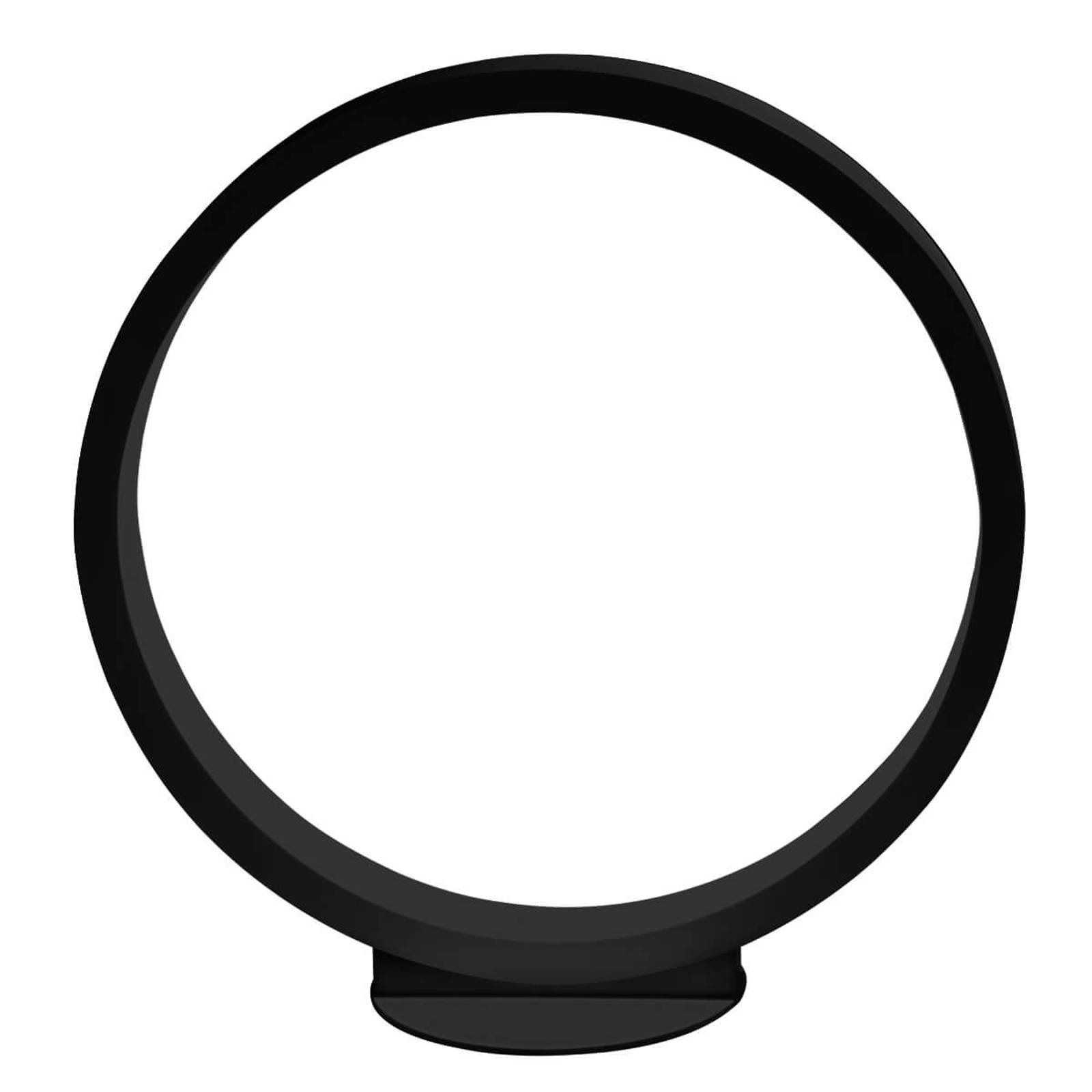 Cini&Nils Assolo - LED-bordlampe, svart, 43 cm