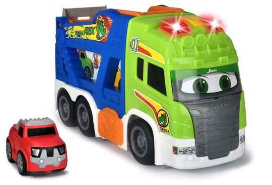 Dickie Toys Happy Scania Transportbil