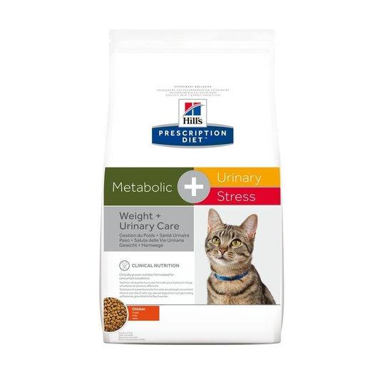 Hill's Prescription Diet Feline Metabolic + Urinary Stress Weight + Urinary Care Chicken (1,5 kg)