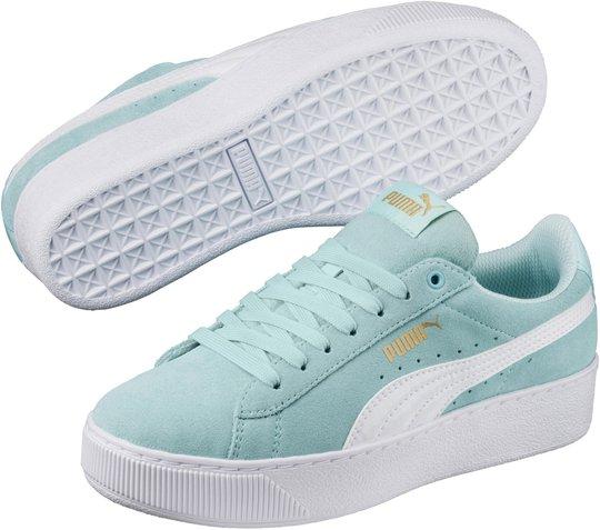 Puma Vikky Platform AC Sneaker, Aqua Splash 29