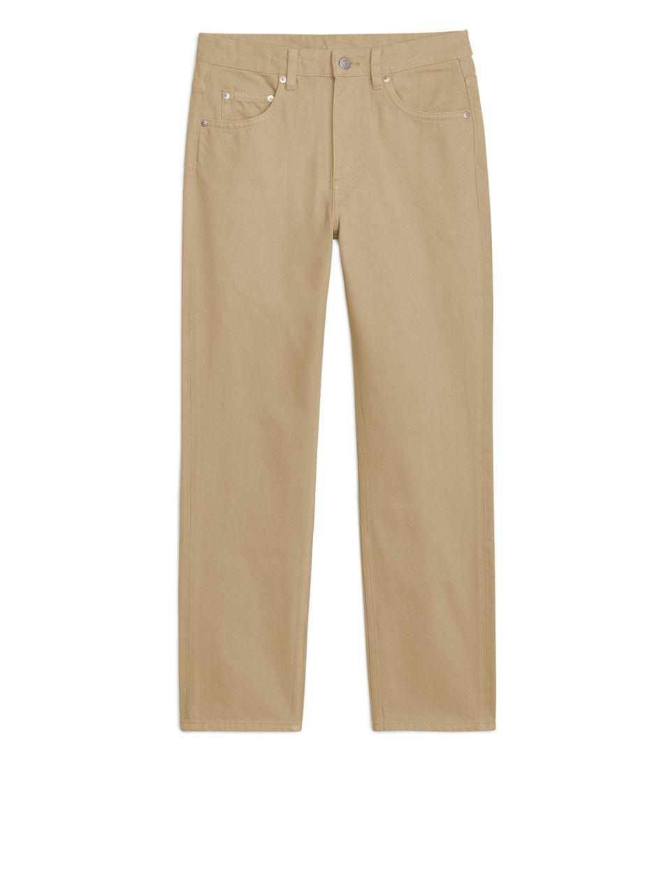 REGULAR Overdyed Jeans - Beige