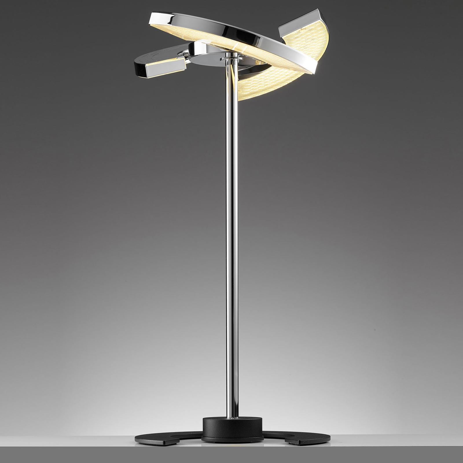 OLIGO Trinity LED-pöytälamppu, 3 siirrettävää osaa