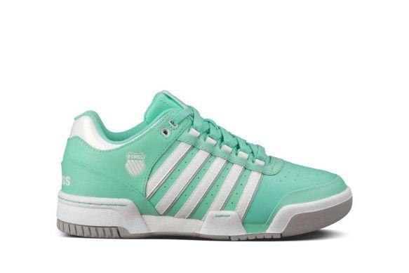 K-Swiss Women's Gstaad Trainers Various Colours 888758030551 - 3.5 UK Green