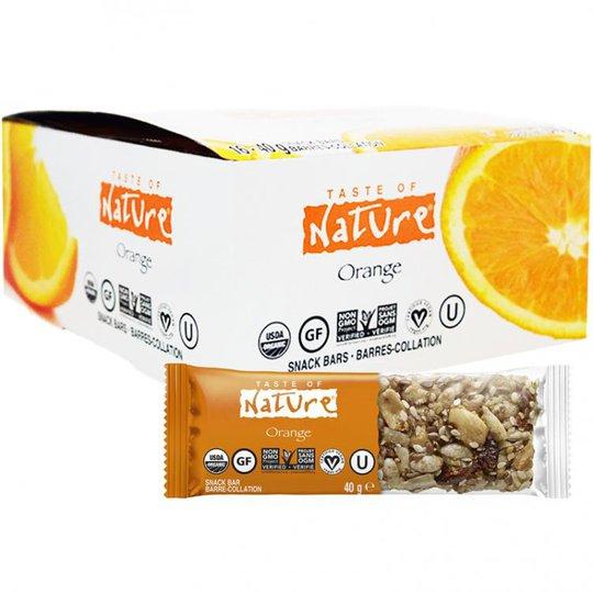 """Laatikollinen Luomu Välipalapatukoita """"Orange"""" 16 x 40g - 67% alennus"""