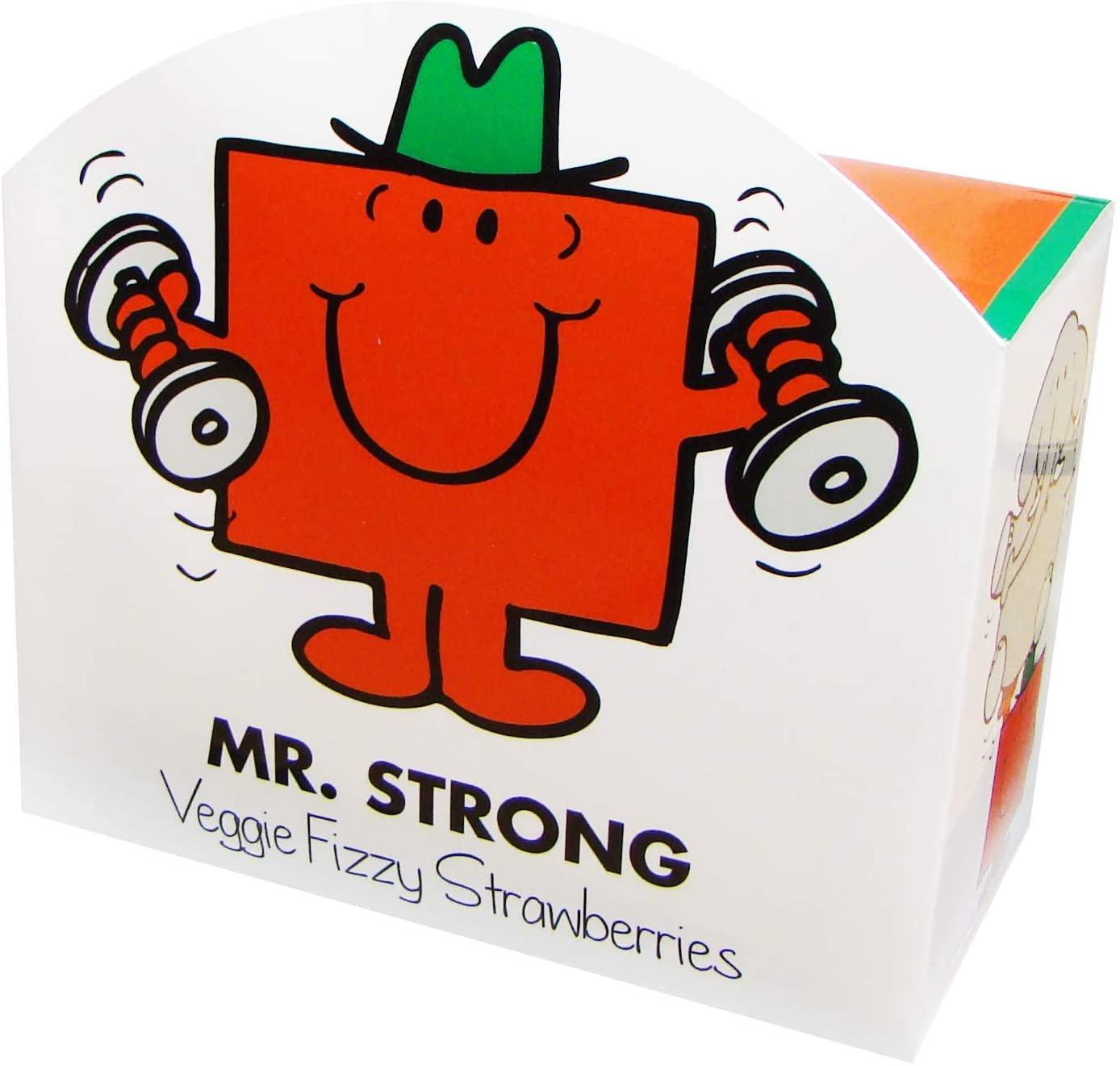 Mr Strong Veggie Fizzy Strawberries 140g