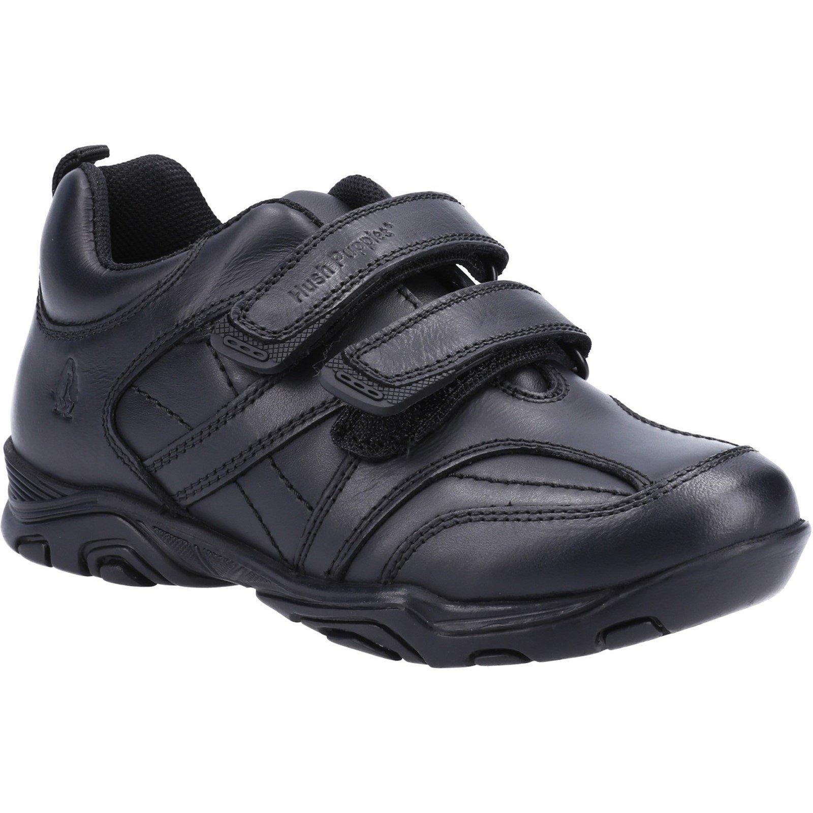 Hush Puppies Kid's Levi Infant School Shoe Black 32629 - Black 8