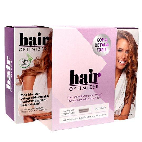 Hair Optimizer 2x60 kapslar - 70% rabatt