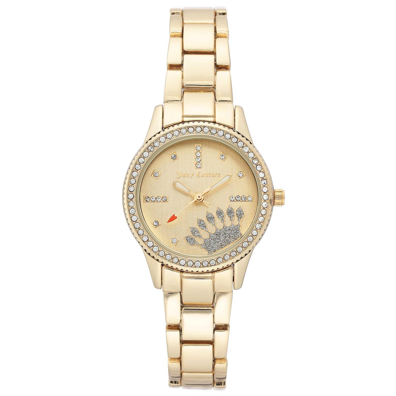 Juicy Couture Women's Watch Gold JC/1110CHGB