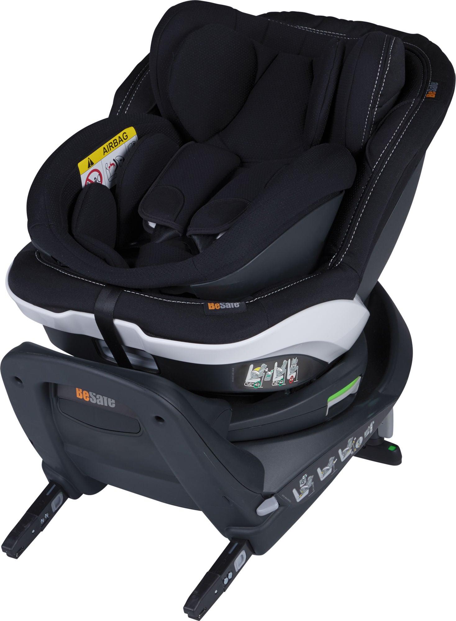 BeSafe iZi Twist B i-Size Bilbarnstol, Premium Car Interior Black