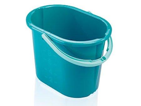 Bøtte 12 liter grønn plast Leifheit