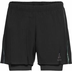 Odlo 2-In-1 Shorts Zeroweight 5 Inch Blackpack Men
