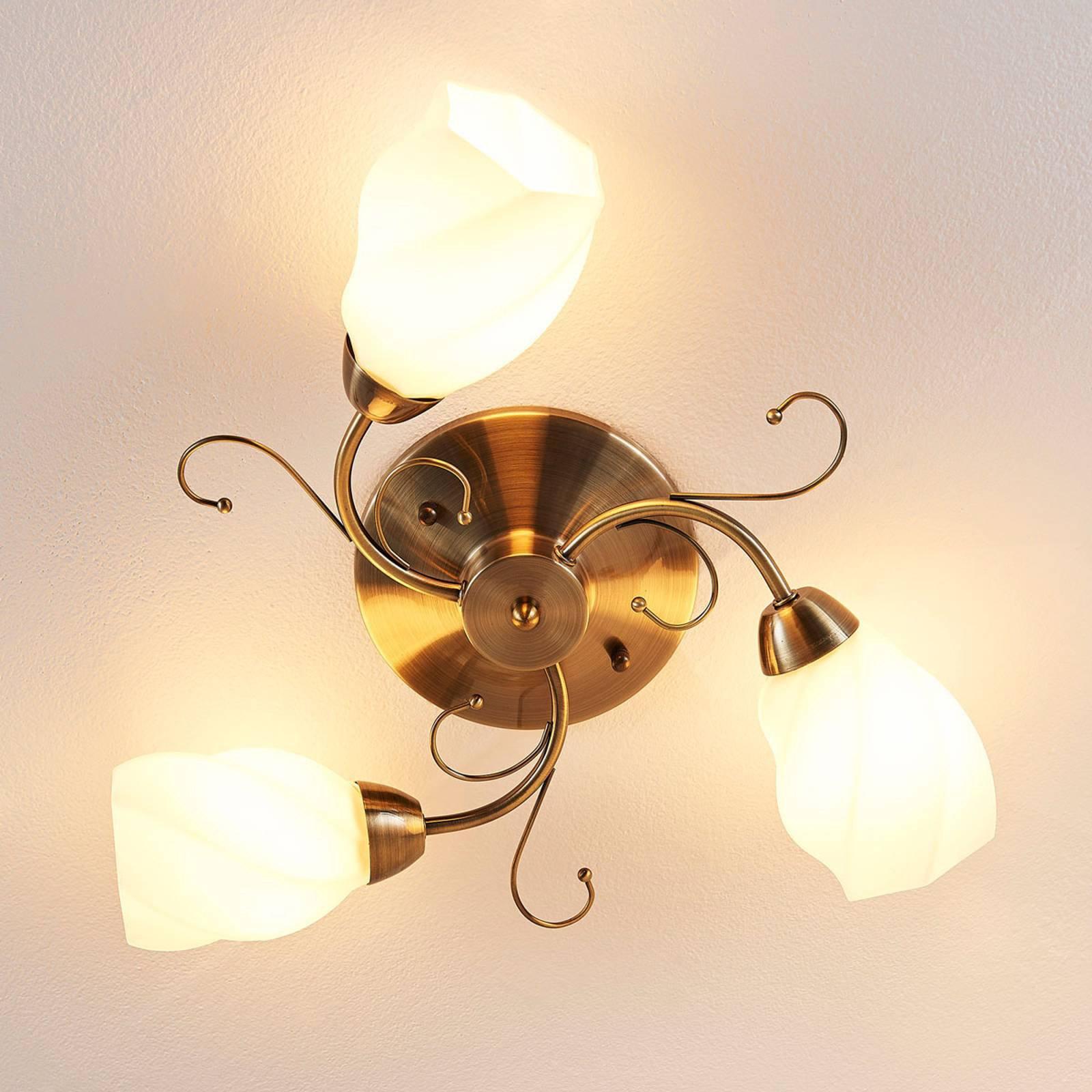 Romantisk utformet taklampe Amedea