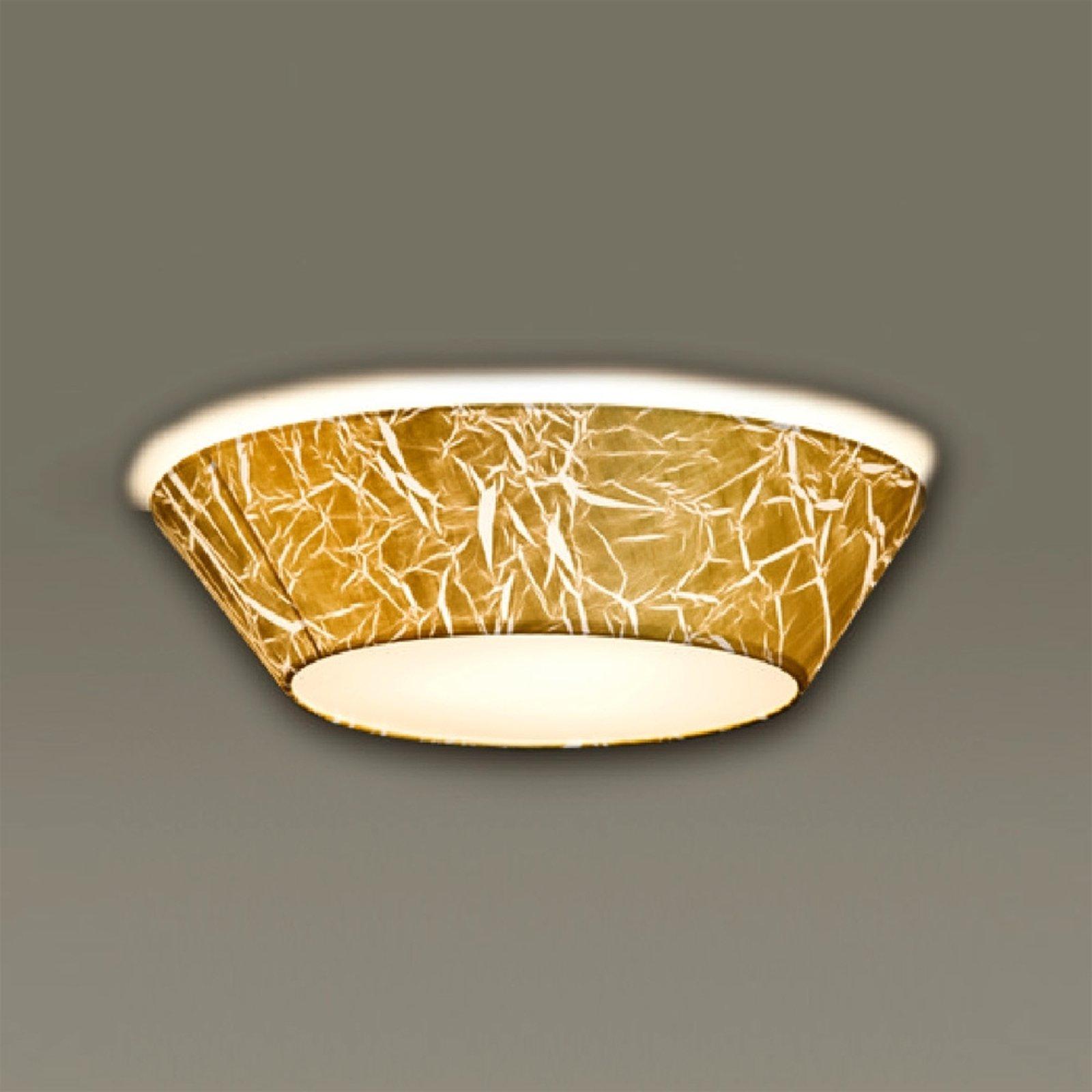 Arius - taklampe med strapattofolie 45 cm