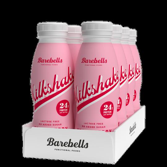 8 x Protein Milkshake, 330 ml, Strawberry