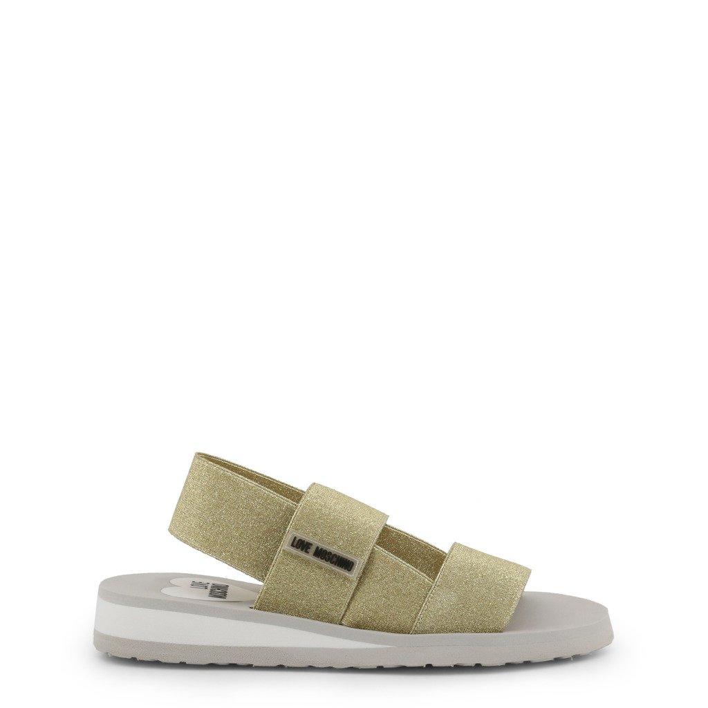 Love Moschino Women's Sandal Various Colours JA16293G07JT - yellow EU 35