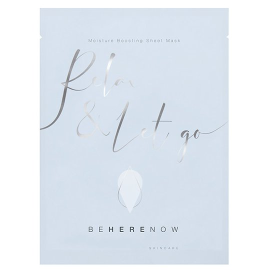 Relax & Let Go - Moisture Boosting Sheet Mask, 25 ml Be Here Now Skincare Kangasnaamiot