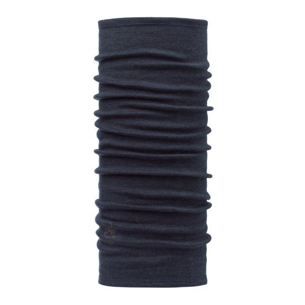 Buff Merino Thermal Halsvarmer marineblå, merinoull