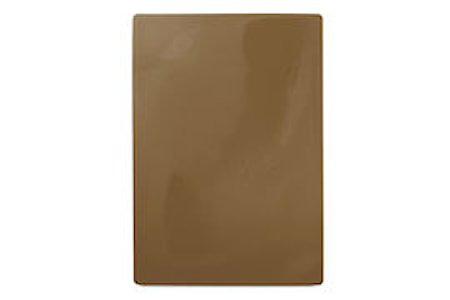 Skjærebrett 49,5x 35cm, brun