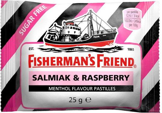 Fisherman´s Friend Salmiak & Raspberry - 22% rabatt
