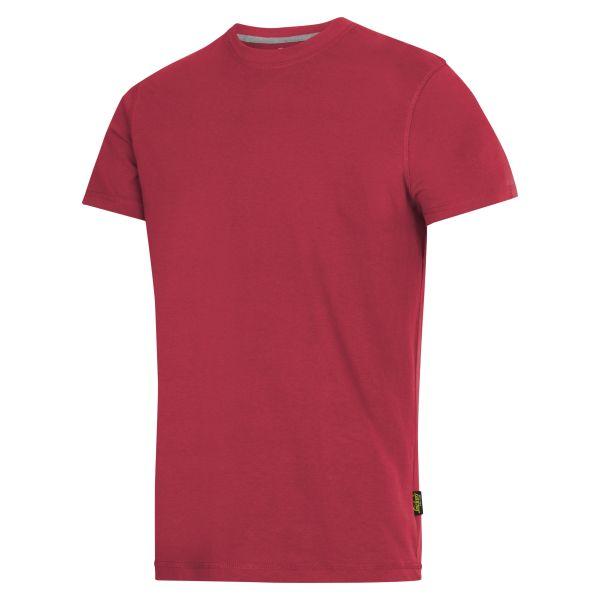 Snickers 2502 T-paita Punainen XS