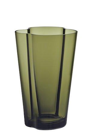 Aalto Vase 22 cm Mosegrønn