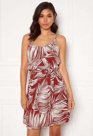 ONLY Augustina S/L Short Dress Burnt Henna 34