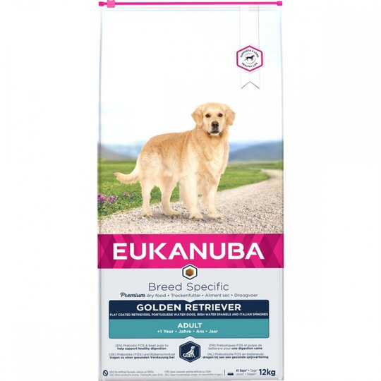 Eukanuba Dog Breed Specific Golden Retriever (12 kg)