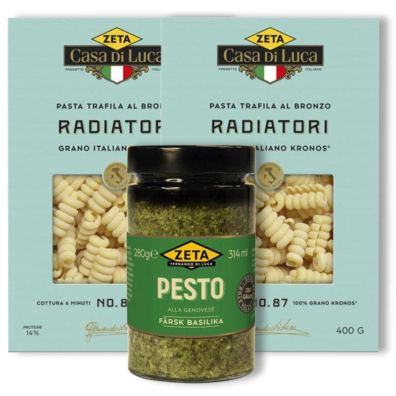 Pasta & Pesto - 79% rabatt