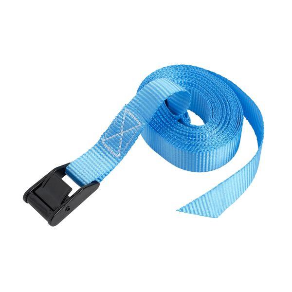 Ironside 100194 Spennbånd 400 kg, 2-pakning 5 m, blå