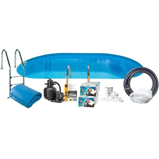 Swim & Fun 2795 Allaspaketti 8 x 4 x 1,2 m, 30 000 l