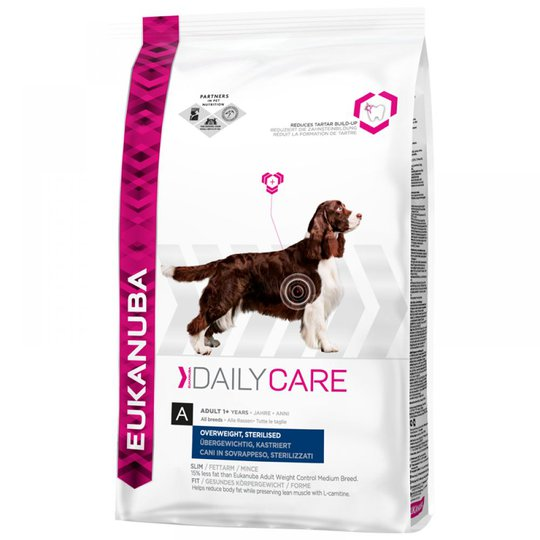 Eukanuba Daily Care Overweight, Sterilized (2,5 kg)