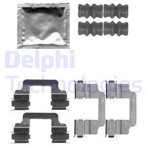 Tarvikesarja, jarrupala DELPHI LX0509