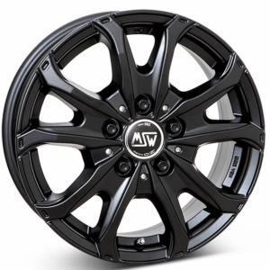 MSW 48 Van Black 6.5x16 5/118 ET55 B71.1