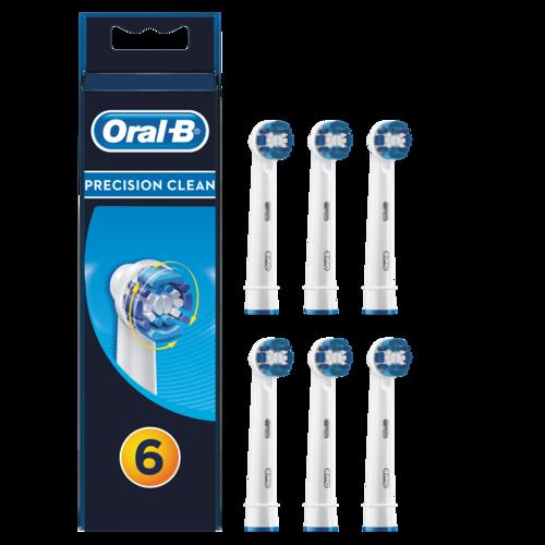 Oral-b Precision Clean 6-pack Tillbehör Till Tandvård