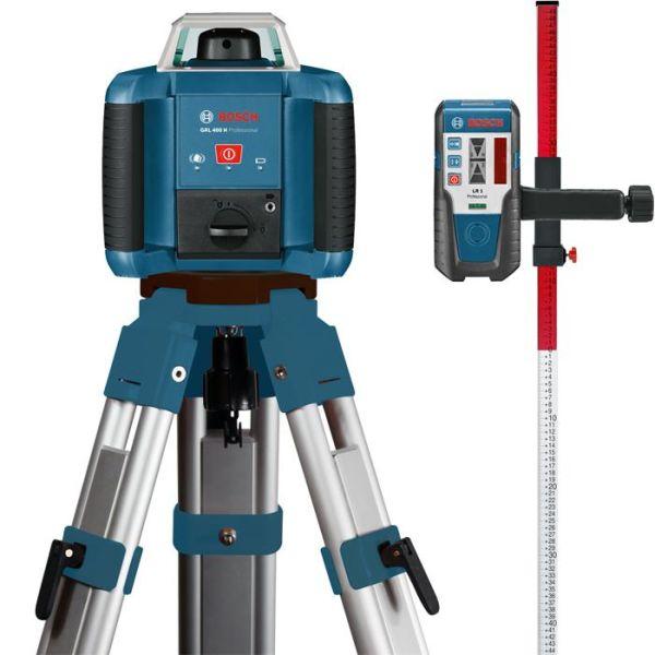 Bosch GRL 400 H Rotasjonslaserpakke