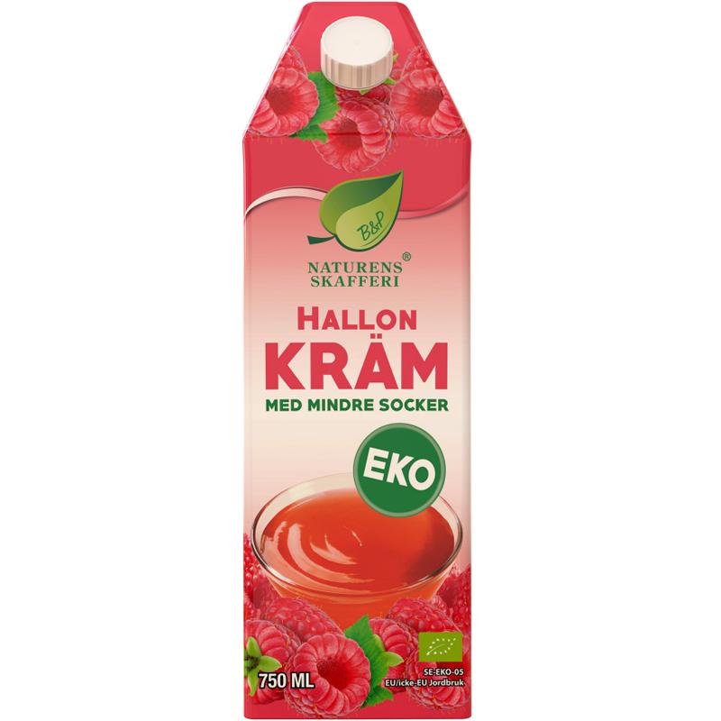 Eko Hallonkräm - 40% rabatt