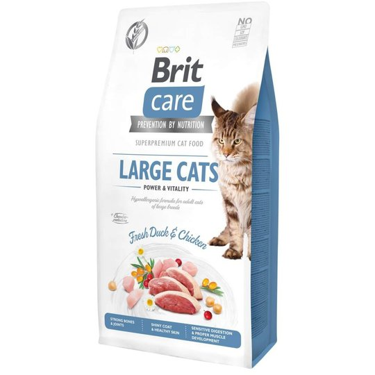 Brit Care Cat Grain Free Large Cats Power & Vitality (7 kg)