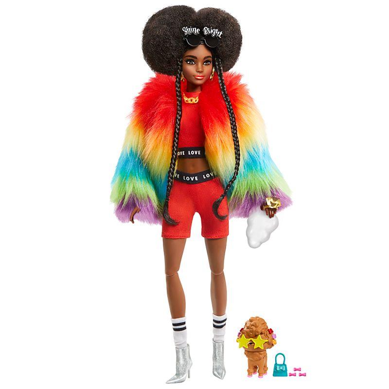 Barbie - Extra Doll - Rainbow Coat (GVR04)
