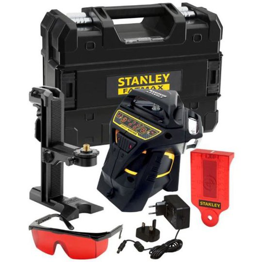 STANLEY FatMax X3R Ristilaser punainen laser