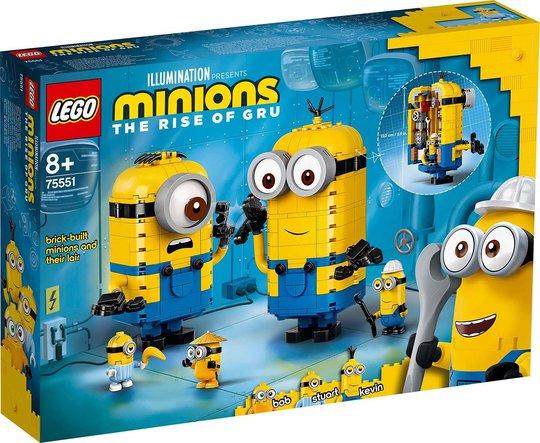 LEGO Minions 75551 Klossebygde Minions og Hiet Deres