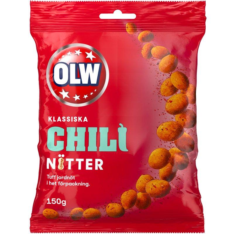 OLW Chili Nuts 150g - 34% rabatt