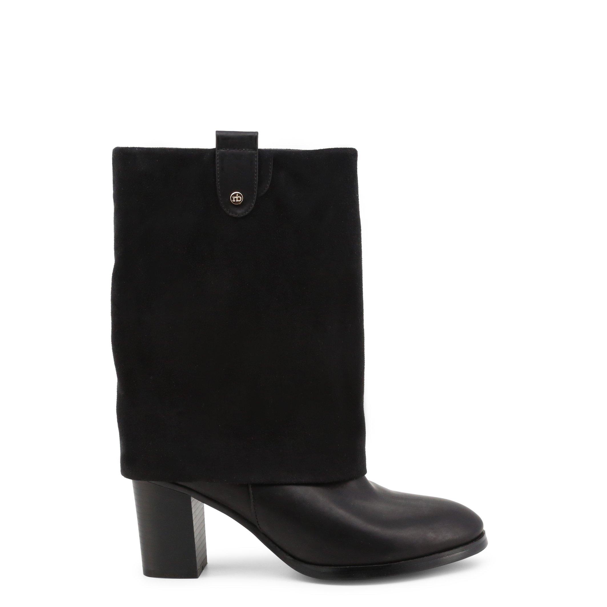 Roccobarocco Women's Ankle Boots Brown 341578 - black EU 37