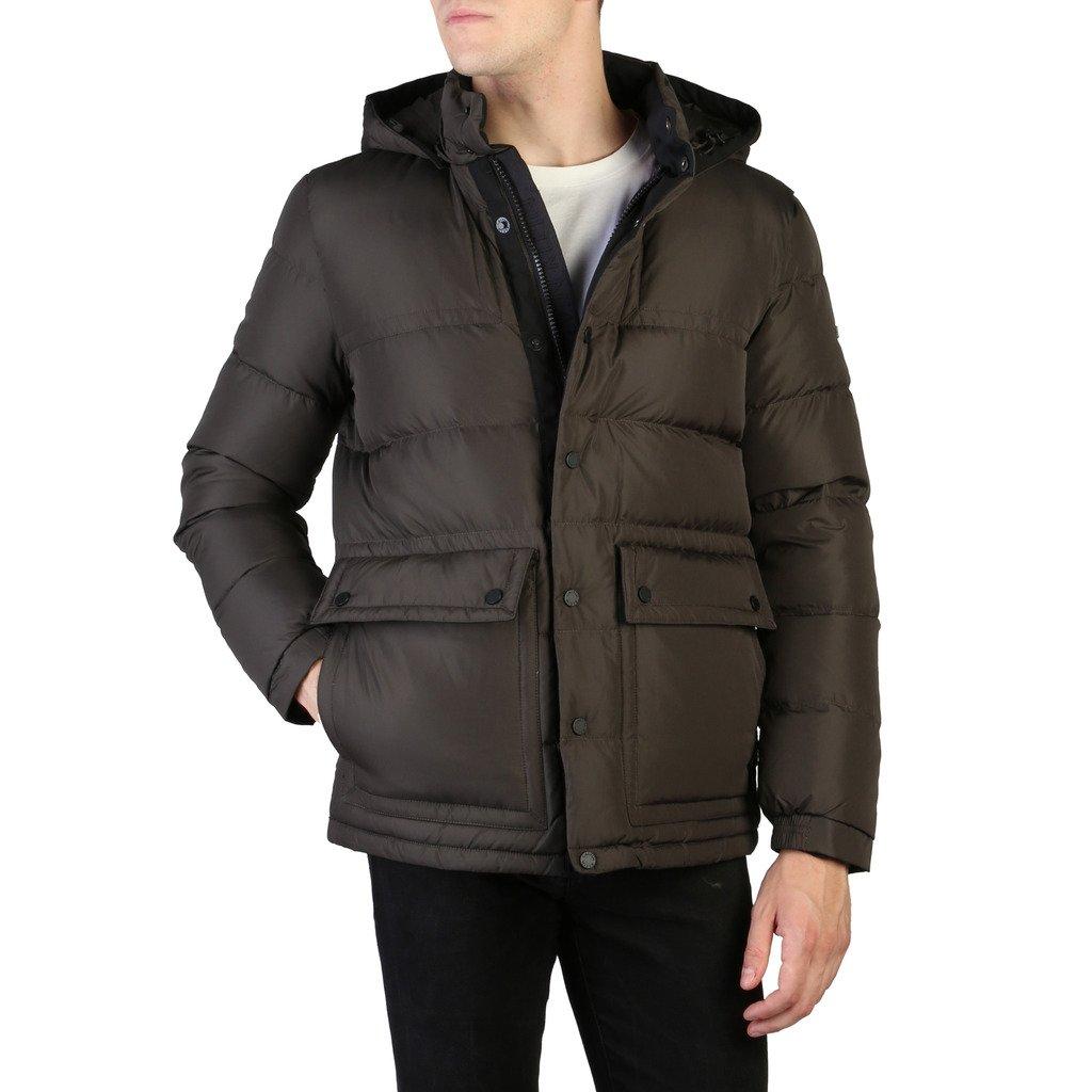 Calvin Klein Men's Jacket Brown K10K101253 - brown 46