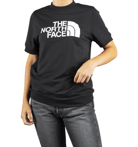 The North Face W Nse Graphic S/s T-shirts BLACK