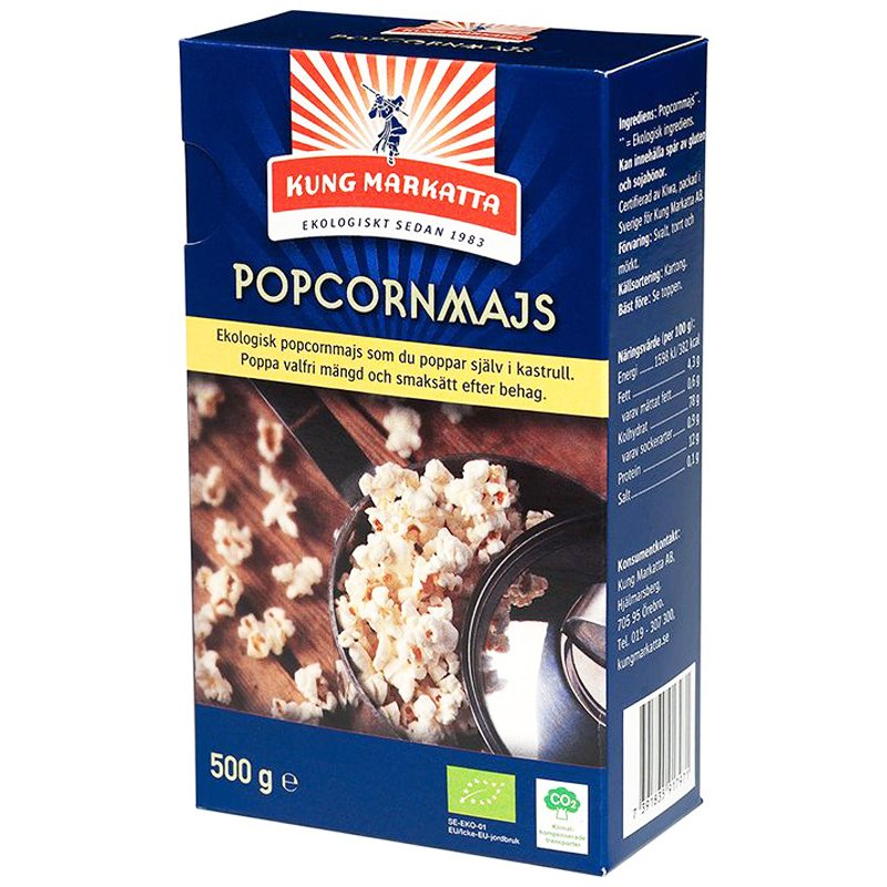 Eko Popcornmajs - 31% rabatt