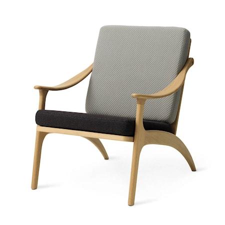 Lean Back Lounge Chair Light sage/Mocca Ek