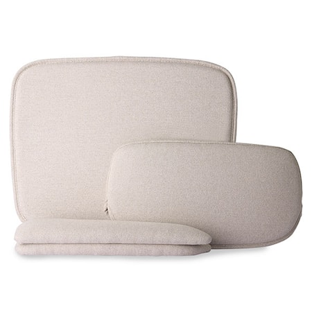 Wire Armchair comfort kit Sand